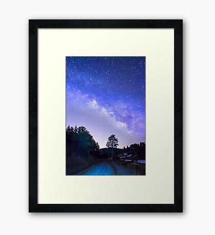 Night Driver Framed Print