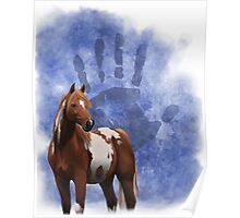 Ethnic Horse Poster