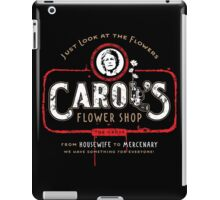 Carol's Flower Shop - Look At The Flowers! iPad Case/Skin