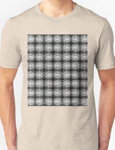 Spinning Stars b&w regular T-Shirt