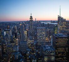 New York Sunset #4 by Ken McElroy