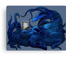 The Intercyberling (The Anonymous User) Canvas Print