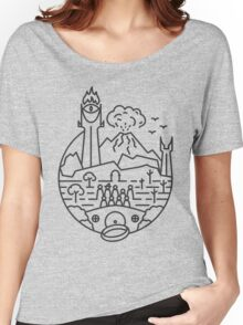 The LOTR Women's Relaxed Fit T-Shirt