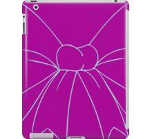 Purple and Robins Egg Blue Bow iPad Case/Skin