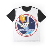 Space Shuttle Challenger (STS-8) Graphic T-Shirt