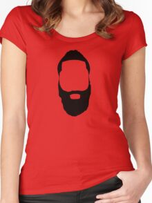 James Harden - Fear the Beard! Women's Fitted Scoop T-Shirt