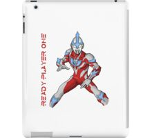 Ready Player One Ultra Man iPad Case/Skin