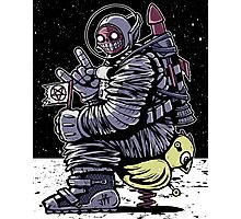 Space Demon Photographic Print