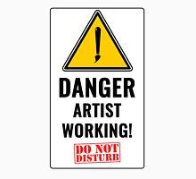 artist working Unisex T-Shirt