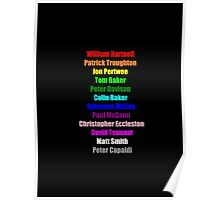 A Rainbow of Doctors Poster