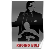 Raging Bull- Movie Poster Design Poster