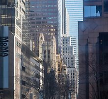 Concrete Canyons of New York by Ken McElroy