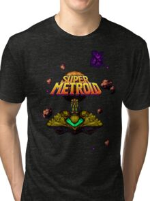 Super Metroid Shirt Tri-blend T-Shirt