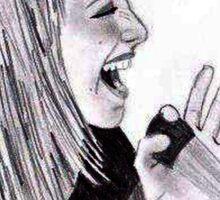 Hayley Williams Sing Sticker