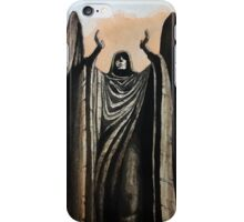 Skyrim angel statue painting iPhone Case/Skin