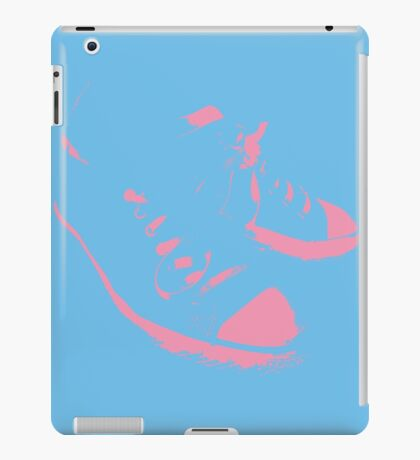 Converse All Stars Pink & Blue iPad Case/Skin
