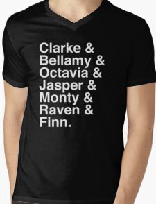The 100 Team Mens V-Neck T-Shirt