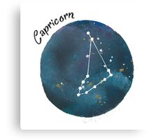capricorn galaxy Canvas Print
