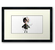 Chibi Playstation Boy Framed Print