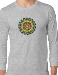 Pi Mandala Fractal Long Sleeve T-Shirt