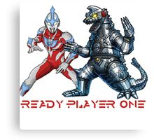 Ready Player One Godzilla Ultra Canvas Print