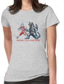 Ready Player One Mech Ultra Womens Fitted T-Shirt