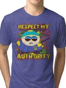 South Park *RESPECT MY AUTHORITY* Tri-blend T-Shirt
