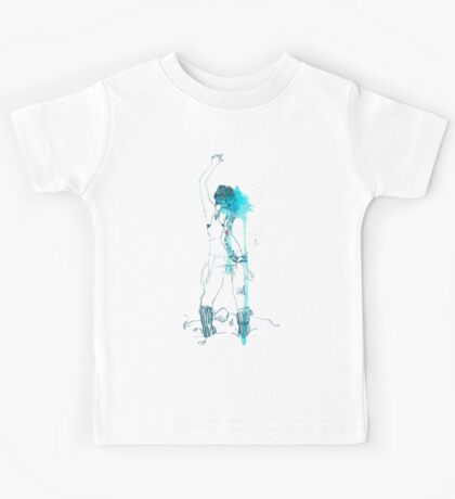 Chloe drawing Kids Tee