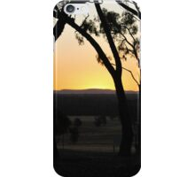 Glowing Sunset by Lorraine McCarthy iPhone Case/Skin