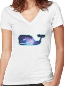 Vineyard Vine Women's Fitted V-Neck T-Shirt