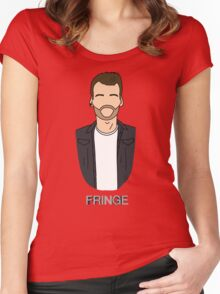 Lincoln - Fringe Women's Fitted Scoop T-Shirt
