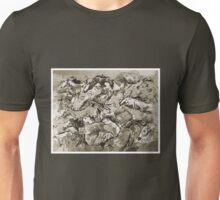 Running Horses BW Unisex T-Shirt