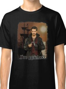 "Captain Hook ""I'm Hooked"" Comic Design Classic T-Shirt"