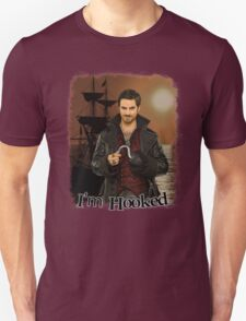 "Captain Hook ""I'm Hooked"" Comic Design Unisex T-Shirt"