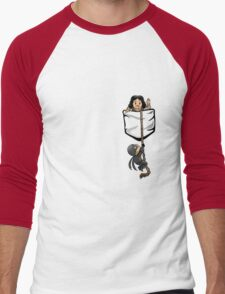 Dread Pocket Roberts Men's Baseball ¾ T-Shirt
