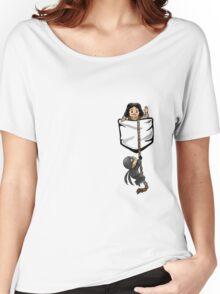 Dread Pocket Roberts Women's Relaxed Fit T-Shirt
