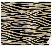 0337 Khaki (X11)  or Light Khaki Tiger Poster
