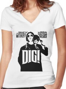 DIG! - THE BRIAN JONESTOWN MASSACRE Women's Fitted V-Neck T-Shirt