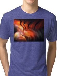 Orange Pupa Tri-blend T-Shirt