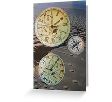 Clocks Greeting Card