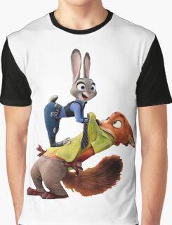 Zootopia Excitement Graphic T-Shirt