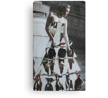 Bird Dress Canvas Print