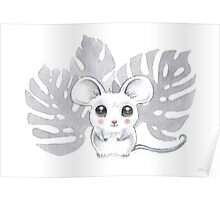 Little Palm Mouse Poster