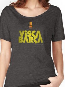 Barcelona visca Women's Relaxed Fit T-Shirt