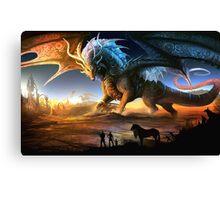 Scenic Dragon Canvas Print