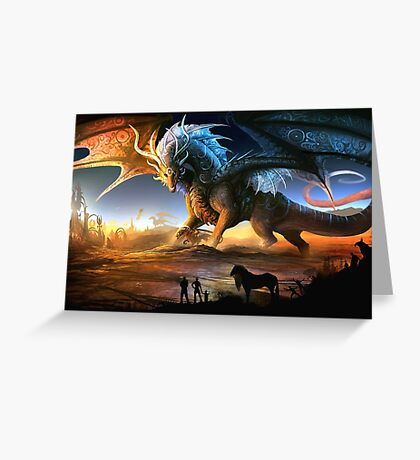 Scenic Dragon Greeting Card