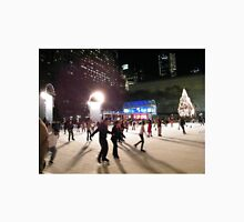Ice Skating at Night, Bryant Park, New York  Unisex T-Shirt