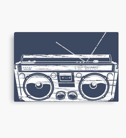 Child of the 1980's Eighties Radio Ga Ga Free Europe  Canvas Print