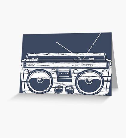 Child of the 1980's Eighties Radio Ga Ga Free Europe  Greeting Card