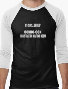 1 1/2 Circle Of Comic-Con Hell Men's Baseball ¾ T-Shirt